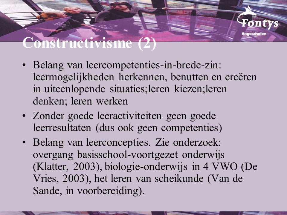 Constructivisme (2)
