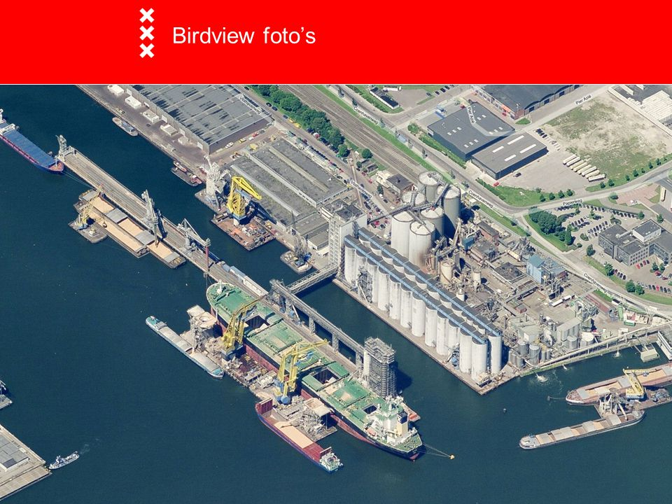 Birdview foto's Birdview foto's Opname met 5 camera's.