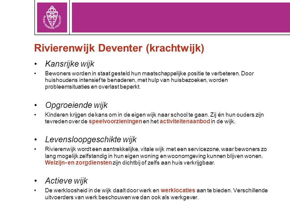 Rivierenwijk Deventer (krachtwijk)