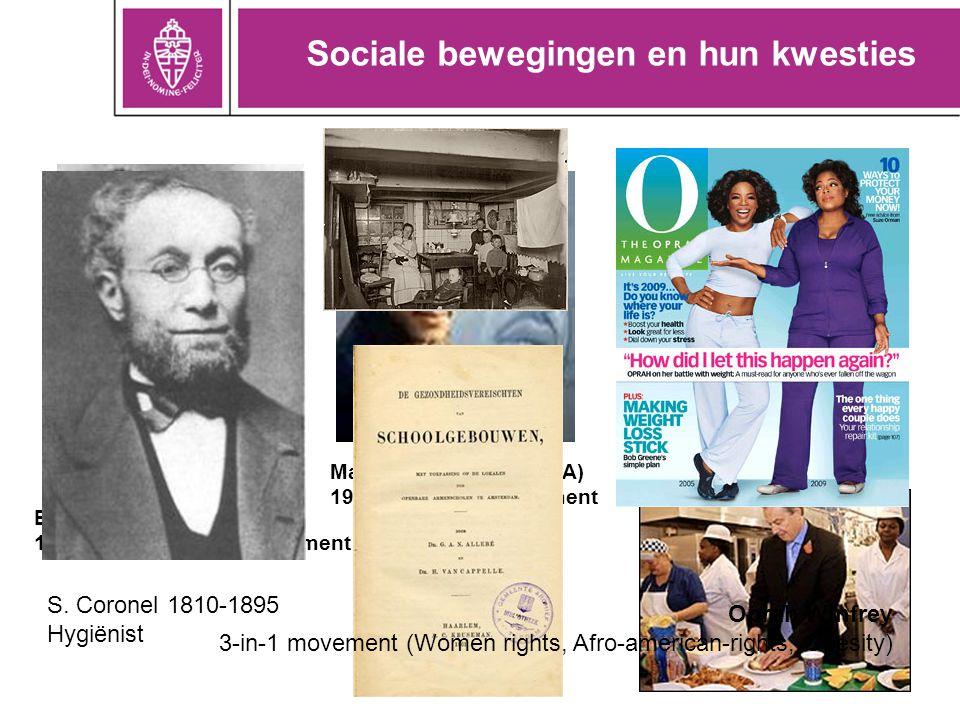 Sociale bewegingen en hun kwesties