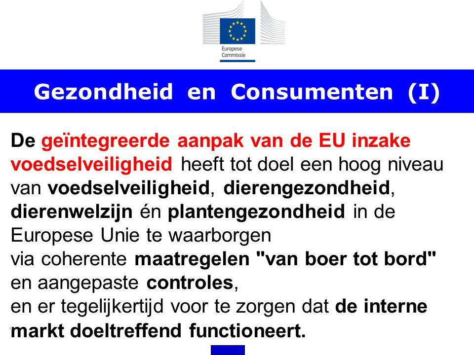 Gezondheid en Consumenten (I)