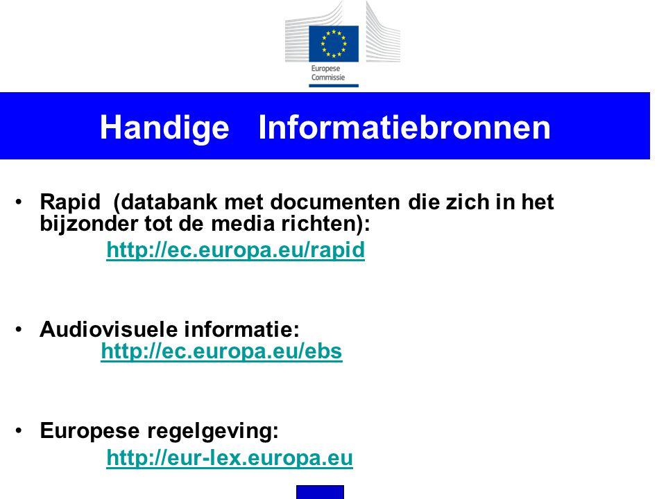 Handige Informatiebronnen