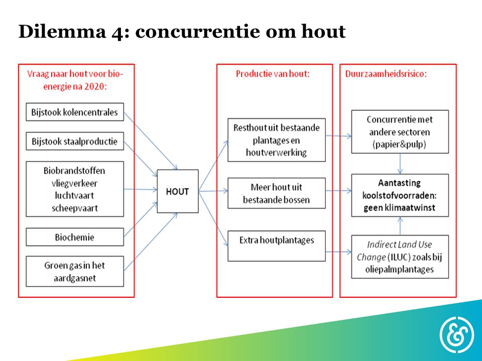 Dilemma 4: concurrentie om hout