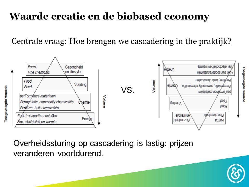 Waarde creatie en de biobased economy