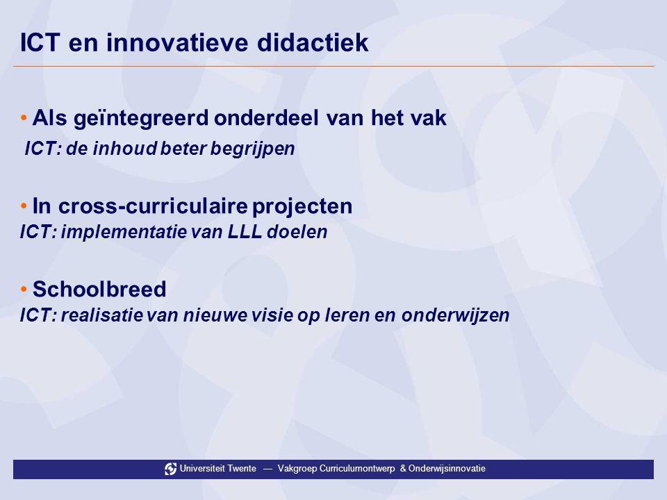 ICT en innovatieve didactiek