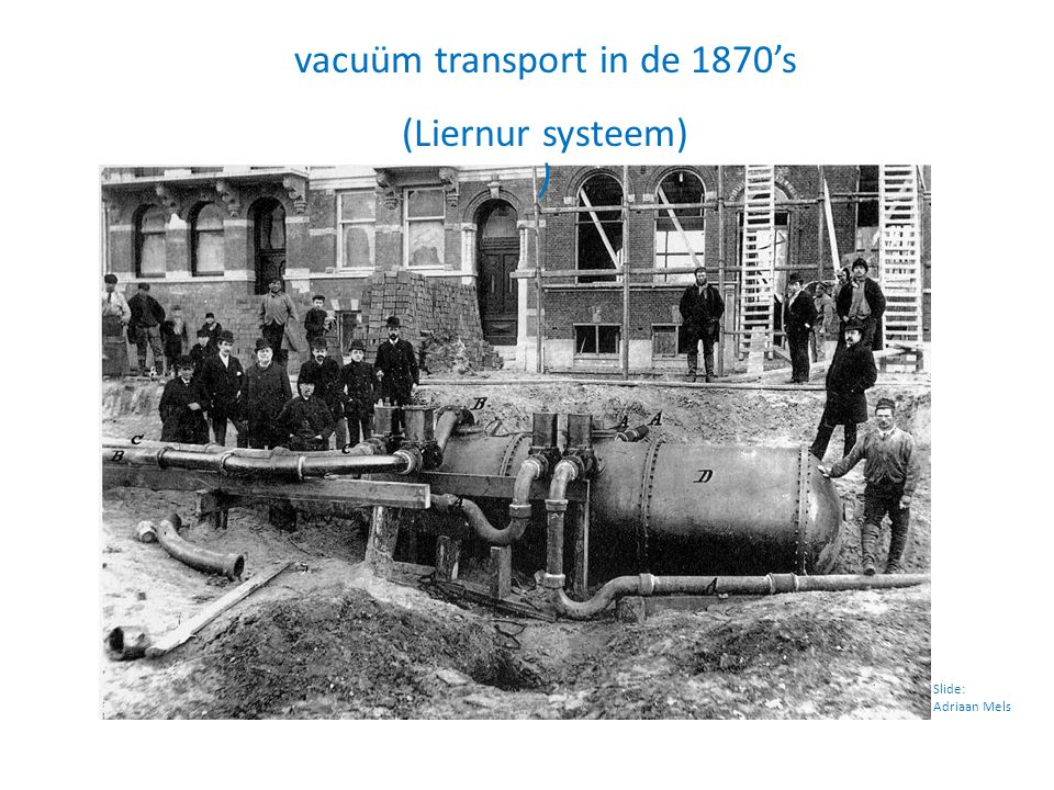 vacuüm transport in de 1870's