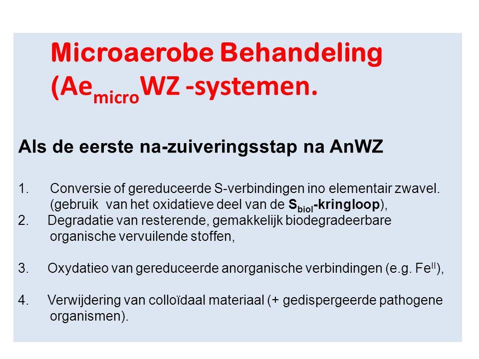 Microaerobe Behandeling (AemicroWZ -systemen.