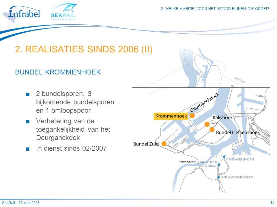 2. REALISATIES SINDS 2006 (II)