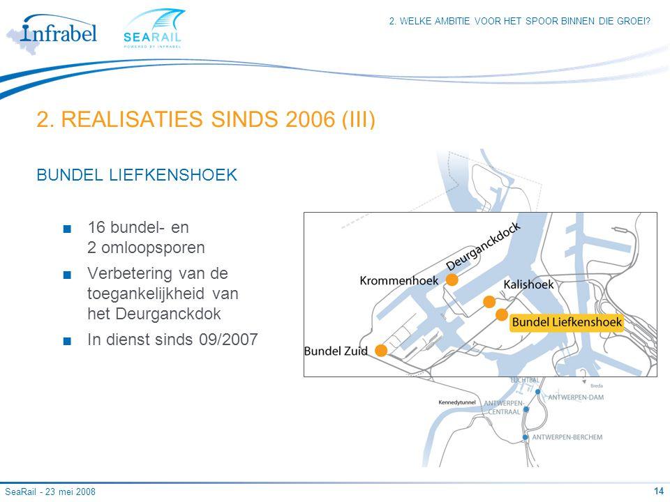 2. REALISATIES SINDS 2006 (III)