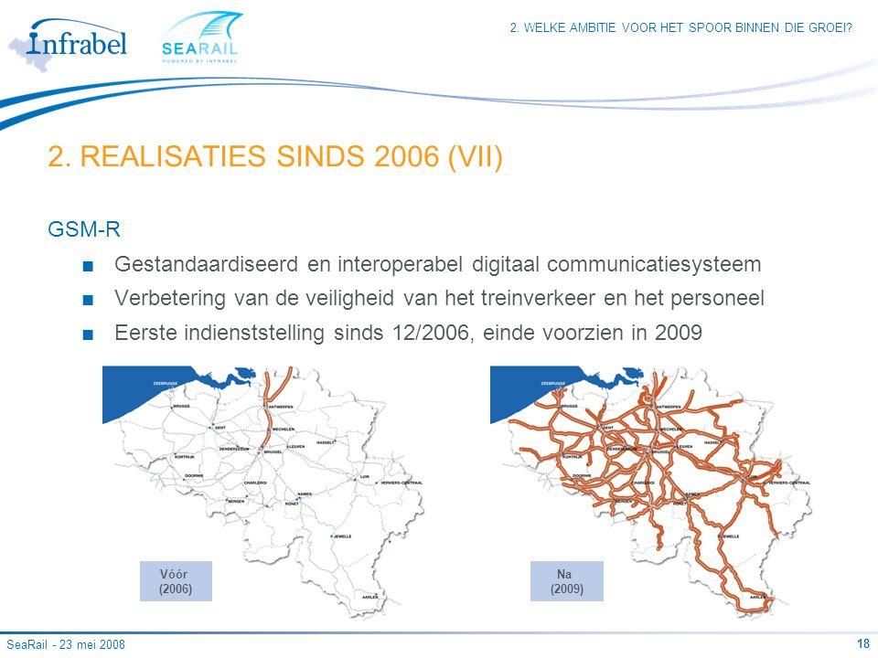 2. REALISATIES SINDS 2006 (VII)