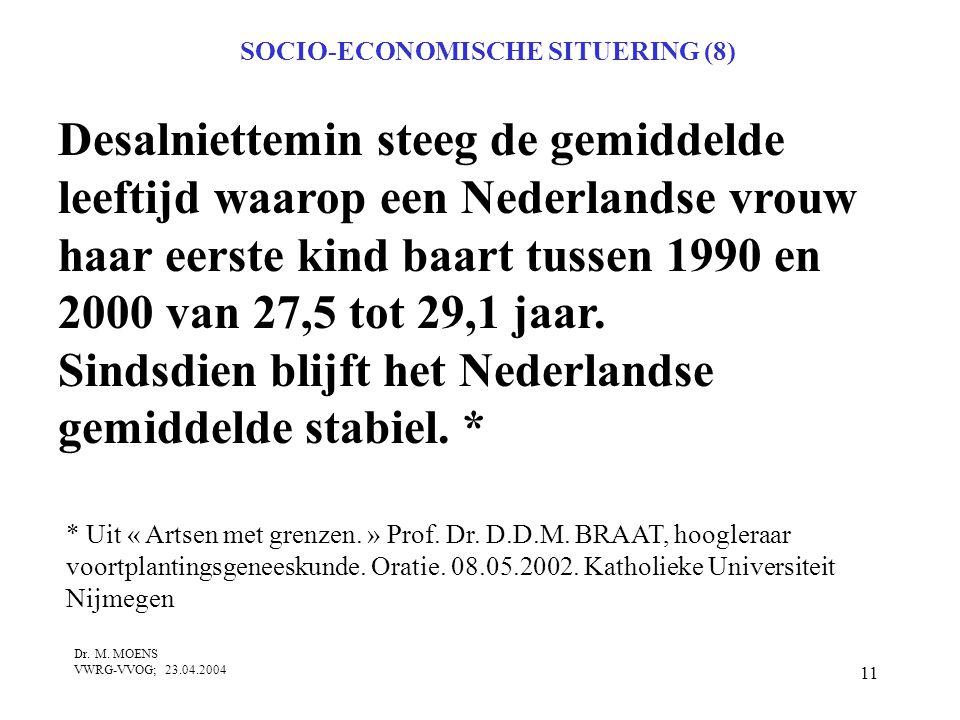 SOCIO-ECONOMISCHE SITUERING (8)