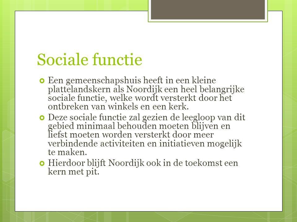 Sociale functie