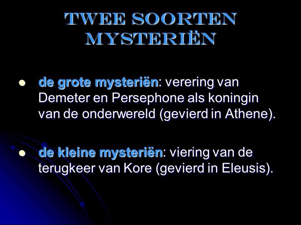 Twee soorten mysteriën