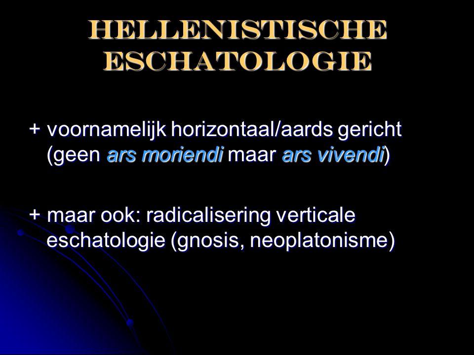 Hellenistische eschatologie