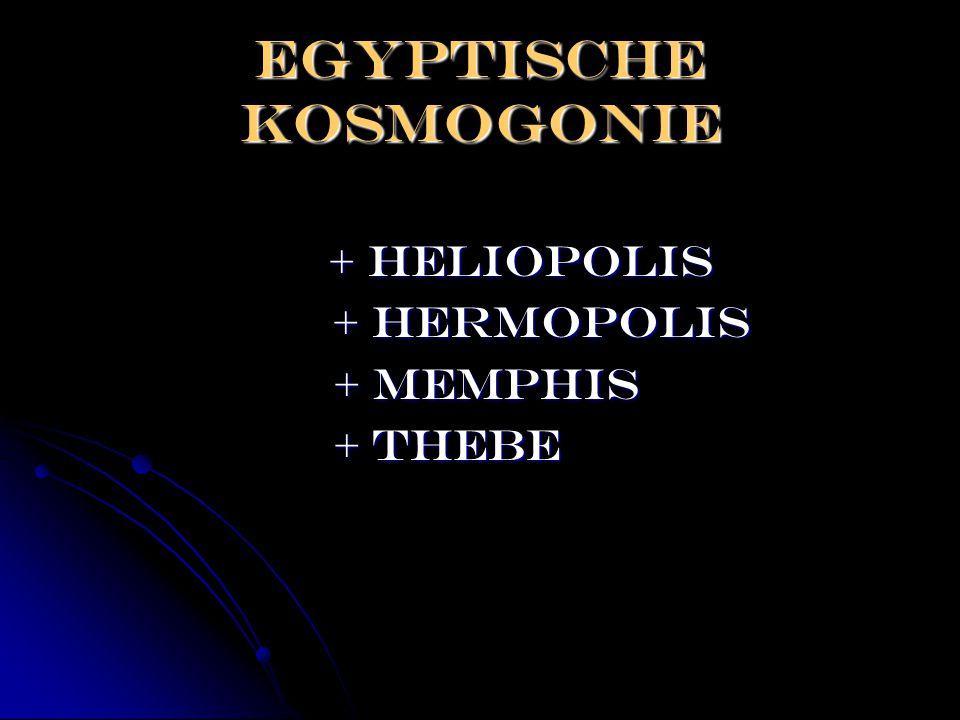 Egyptische kosmogonie