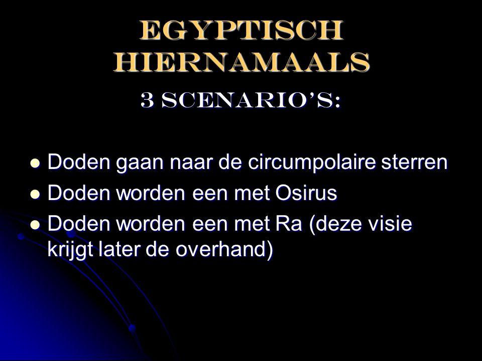 EGYPTISCH HIERNAMAALS