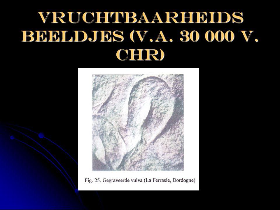 Vruchtbaarheids beeldjes (v.a. 30 000 v. Chr)