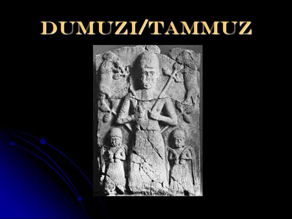 Dumuzi/tammuz