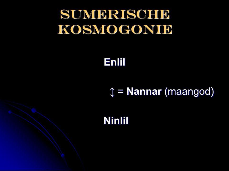 Sumerische kosmogonie