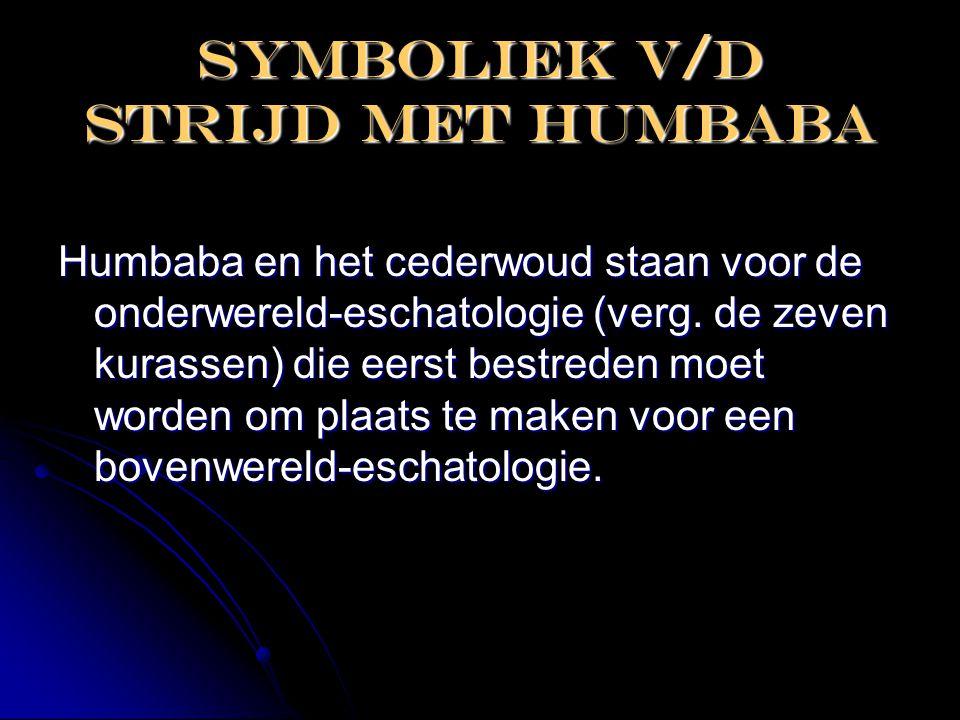 Symboliek v/d strijd met humbaba