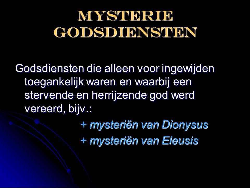 Mysterie godsdiensten