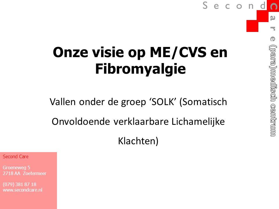 Onze visie op ME/CVS en Fibromyalgie