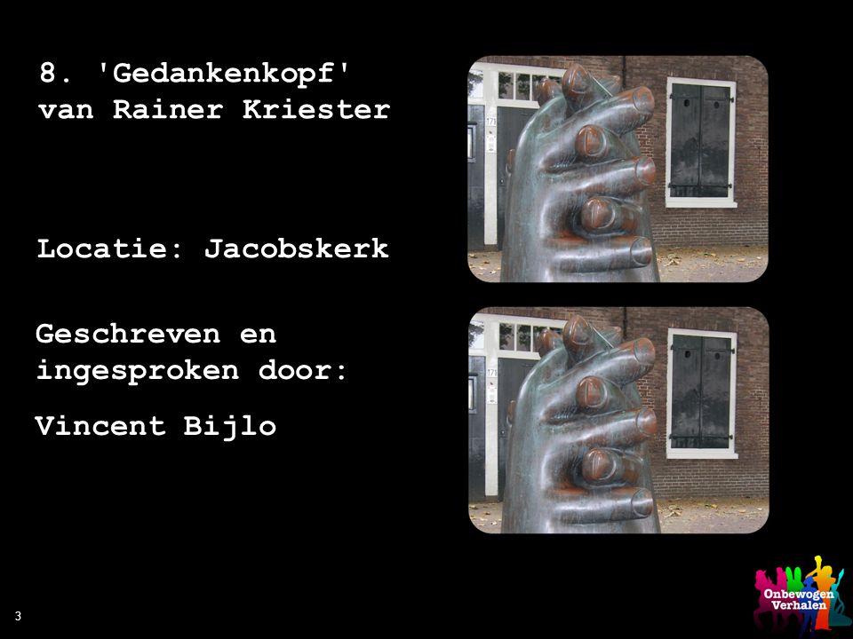 8. Gedankenkopf van Rainer Kriester