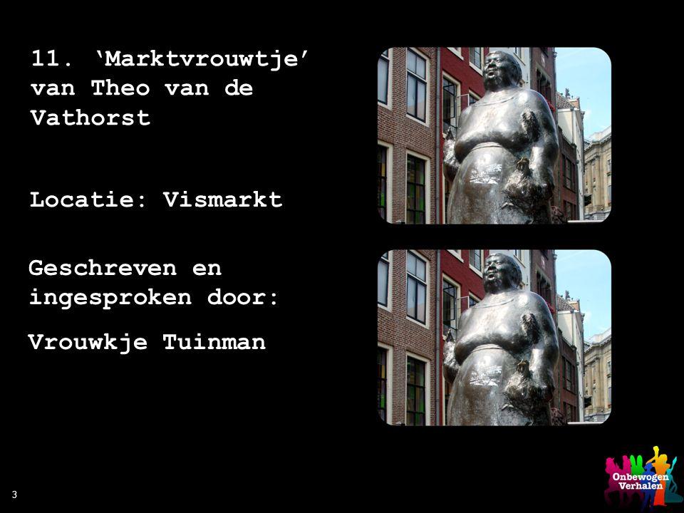 11. 'Marktvrouwtje' van Theo van de Vathorst