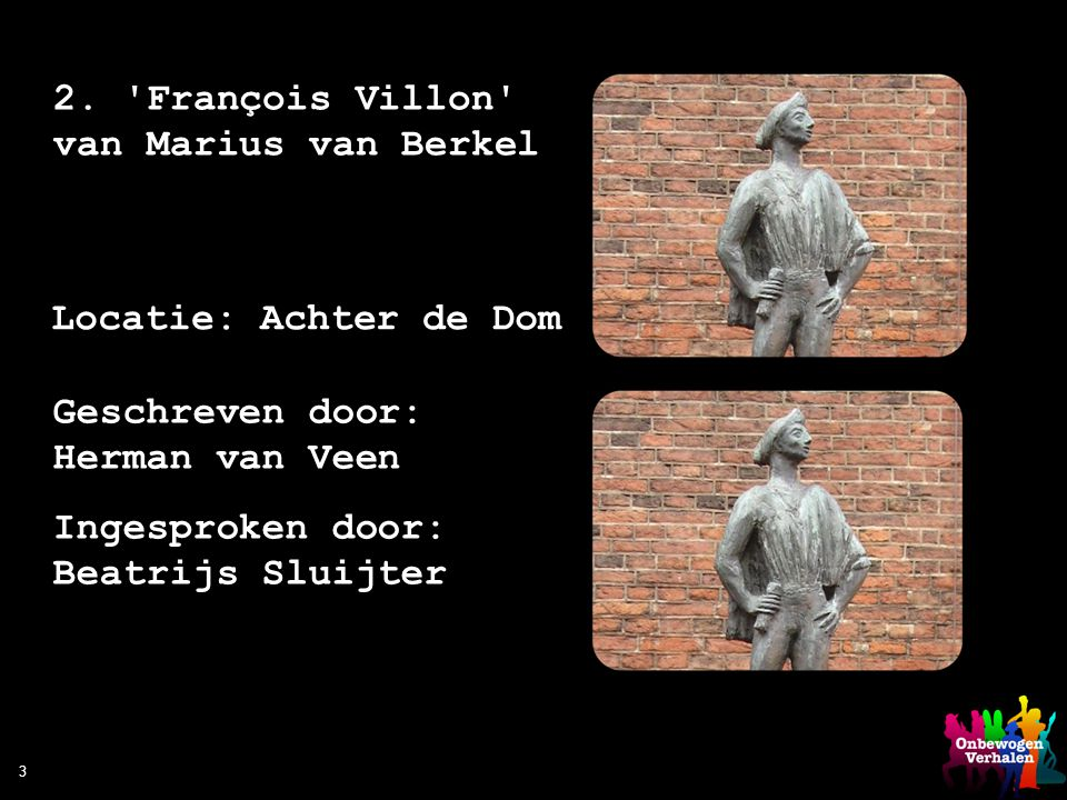 2. François Villon van Marius van Berkel