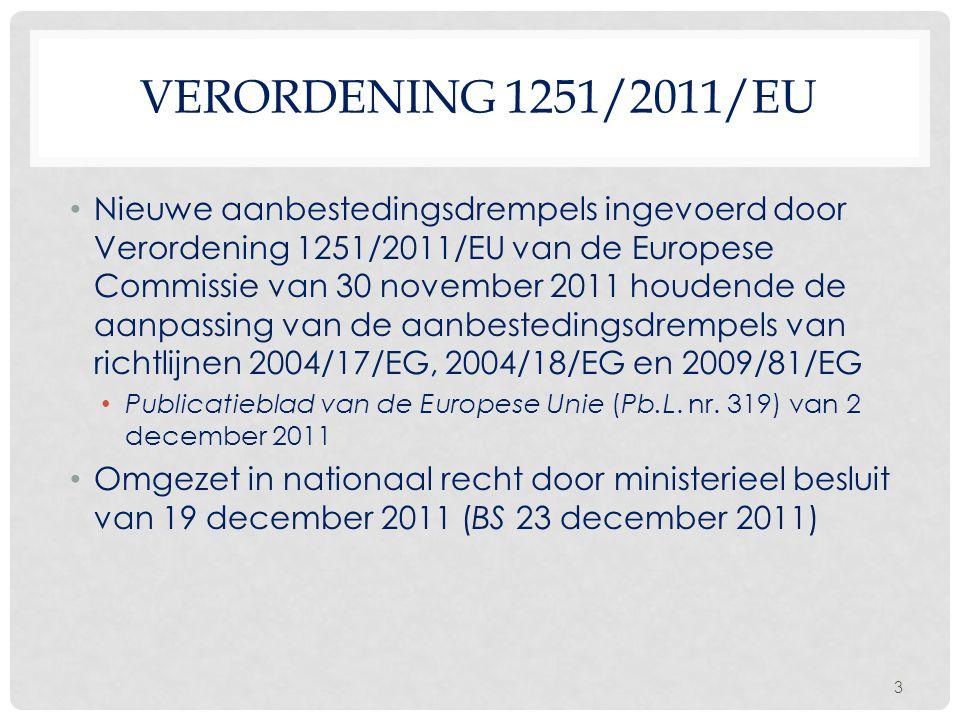 Verordening 1251/2011/EU