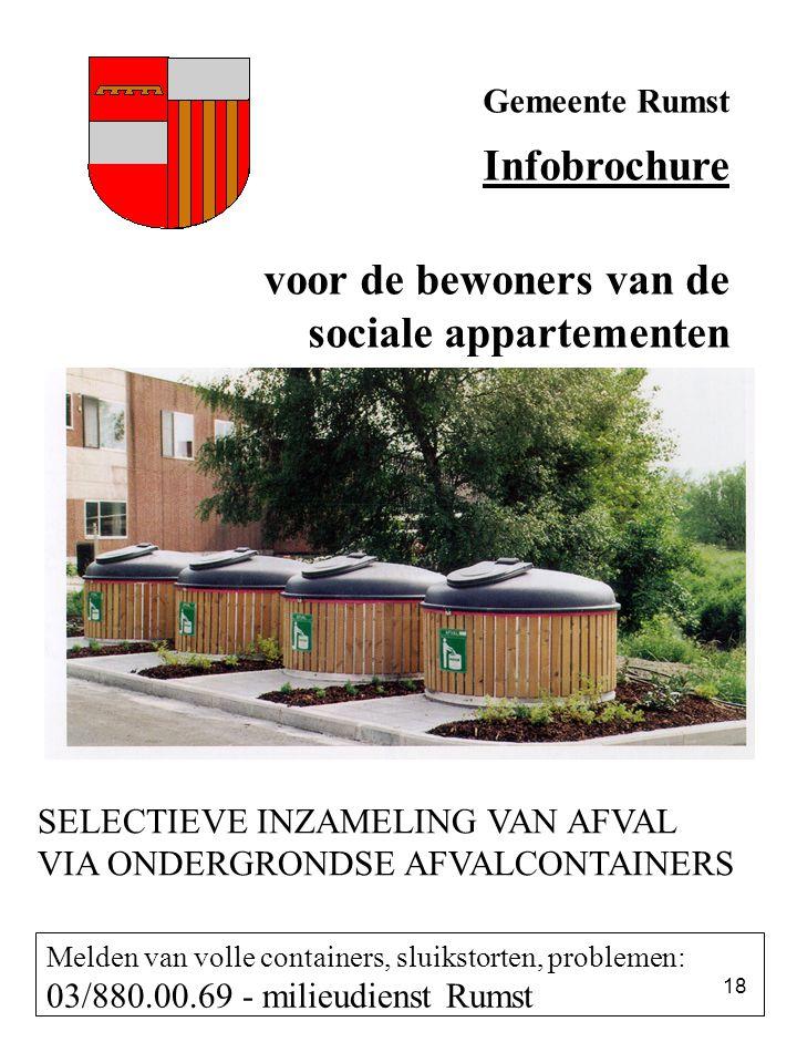 sociale appartementen