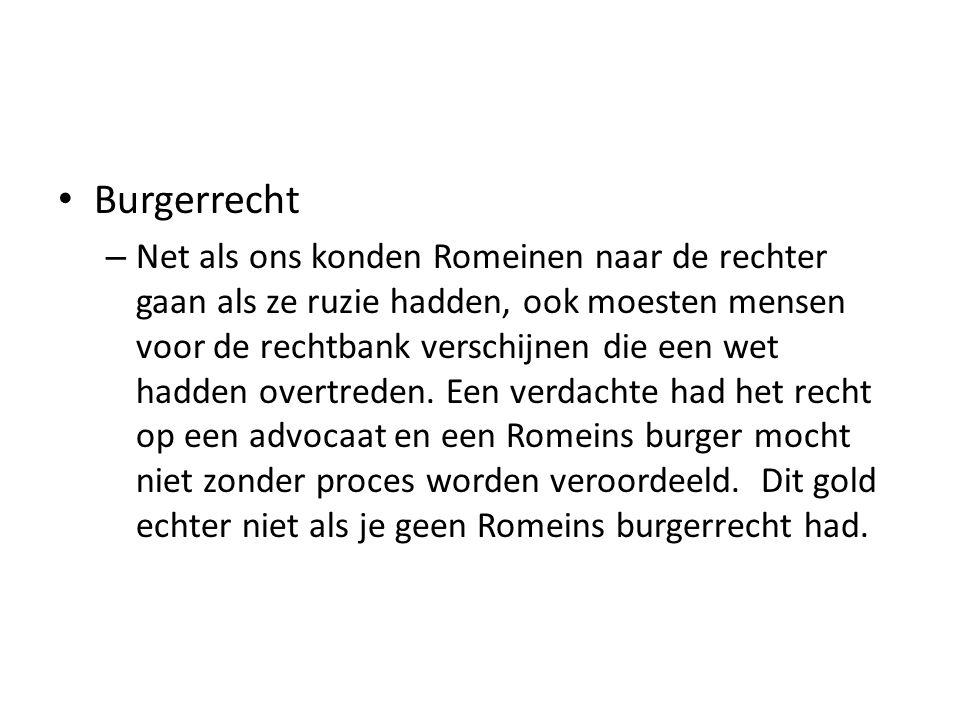 Burgerrecht