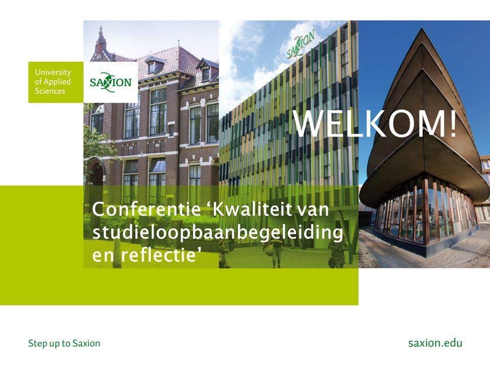 Conferentie 'Kwaliteit van studieloopbaanbegeleiding en reflectie'