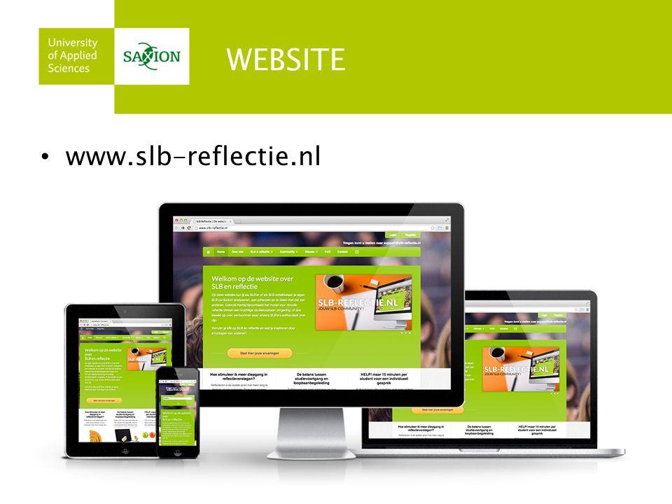 WEBSITE www.slb-reflectie.nl