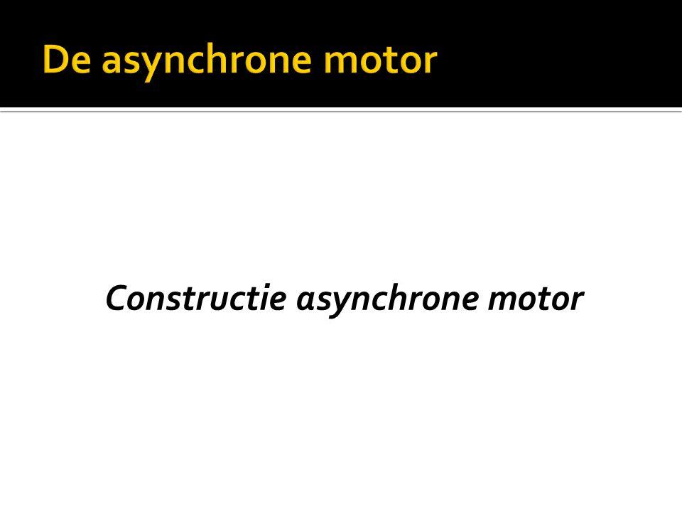 Constructie asynchrone motor