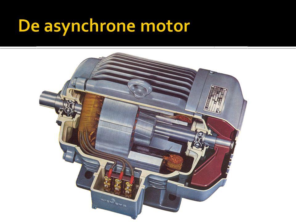 De asynchrone motor