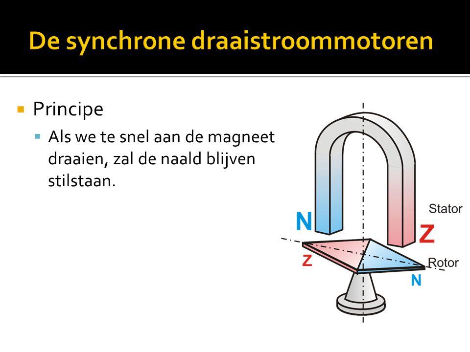 De synchrone draaistroommotoren