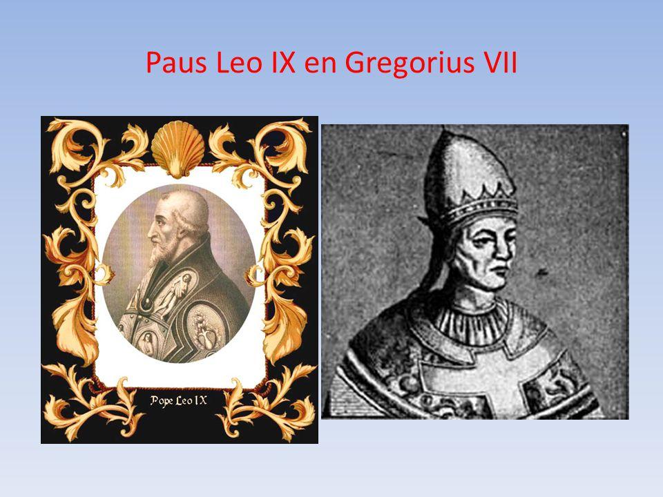 Paus Leo IX en Gregorius VII