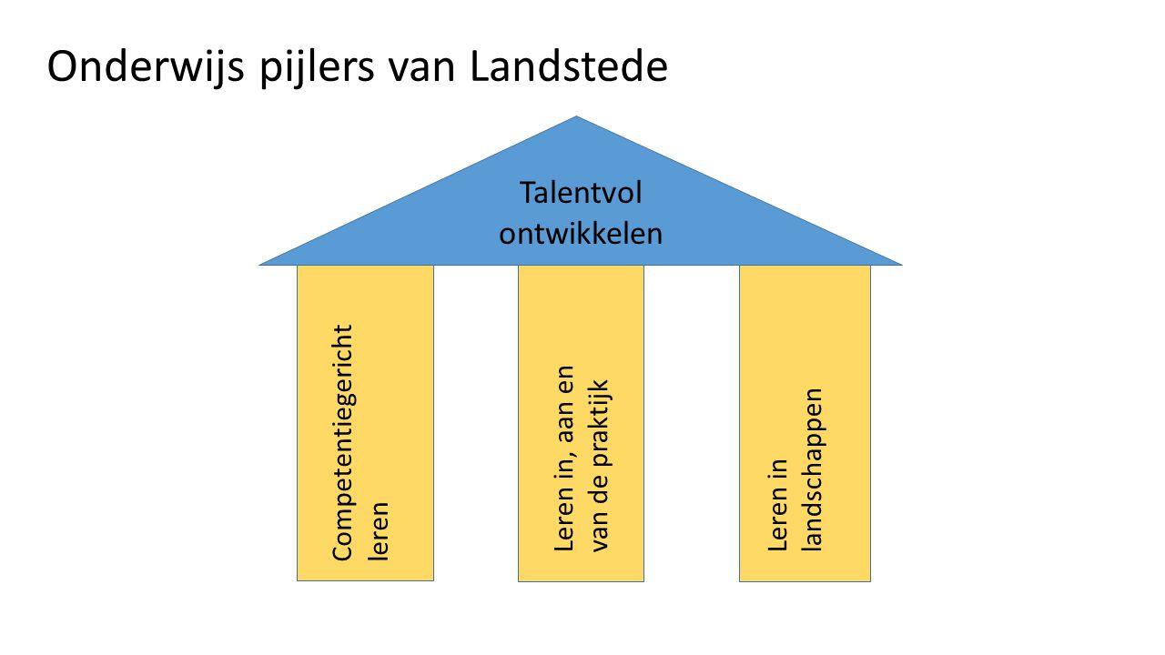 Onderwijs pijlers van Landstede