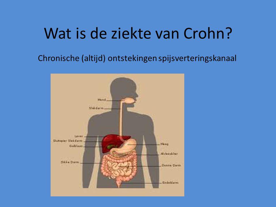 Wat is de ziekte van Crohn