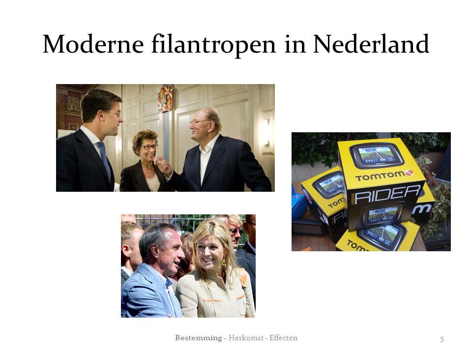 Moderne filantropen in Nederland