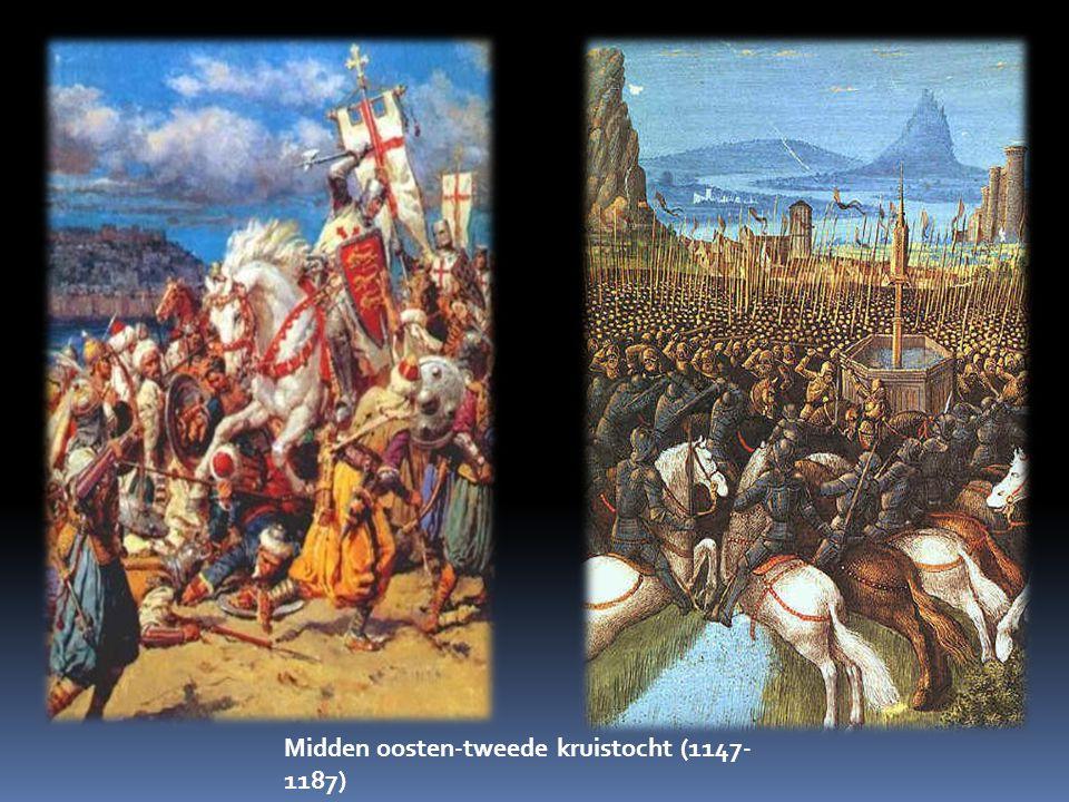 Midden oosten-tweede kruistocht (1147-1187)