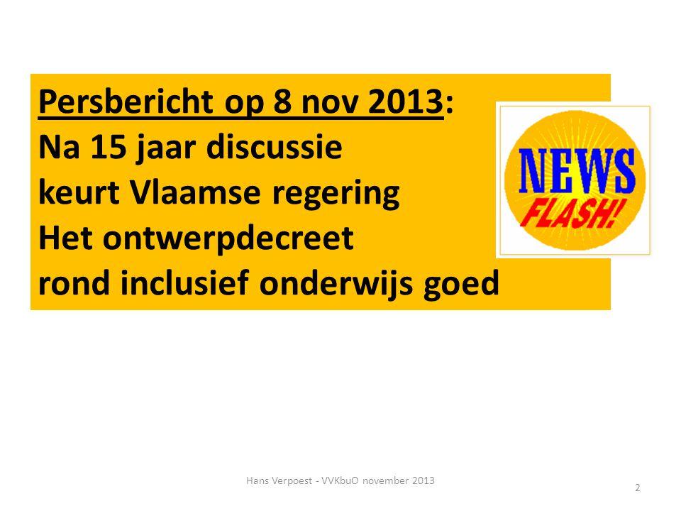 Hans Verpoest - VVKbuO november 2013