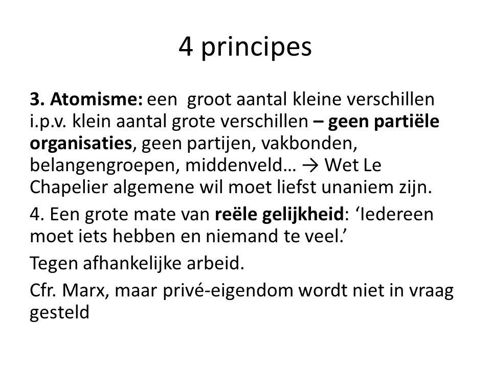 4 principes