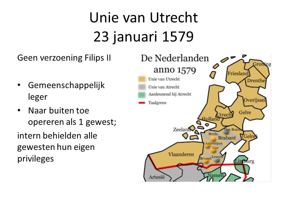 Unie van Utrecht 23 januari 1579