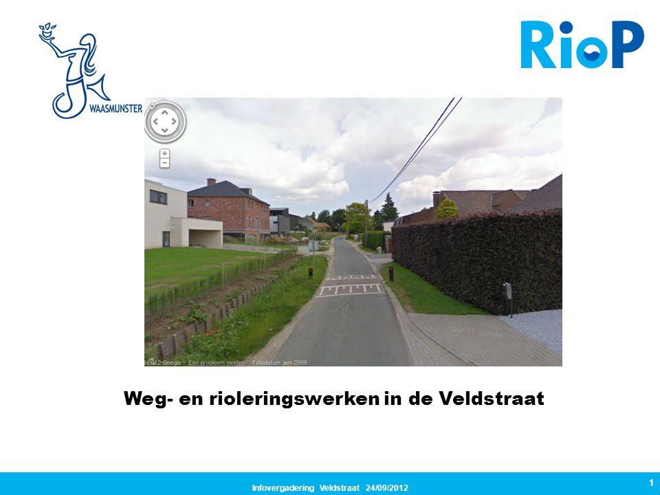 Infovergadering Veldstraat 24/09/2012