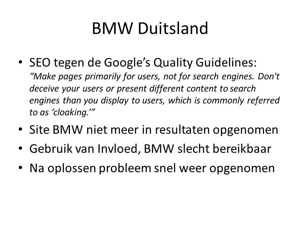 BMW Duitsland