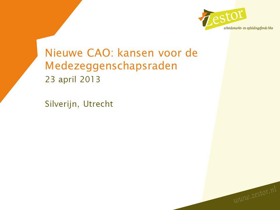 Programma Presentatie: samenwerking tussen lokaal overleg en de medezeggenshap; inventarisatie professionalisering.