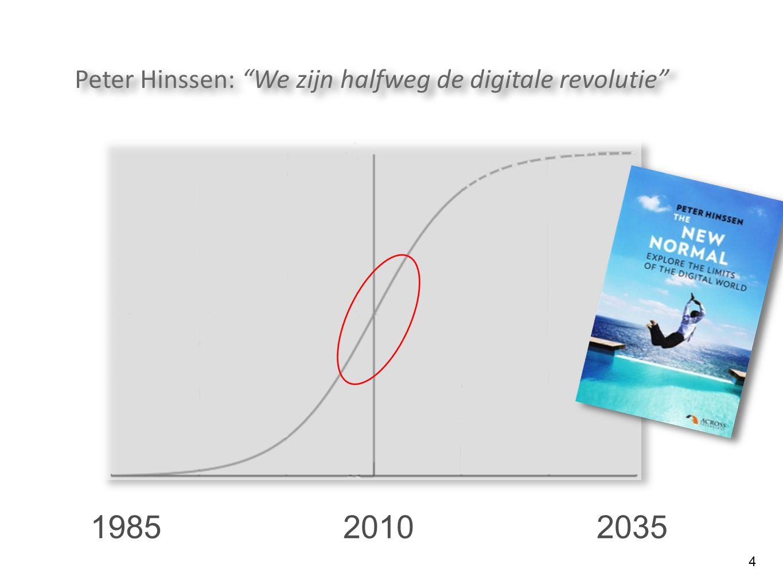 Peter Hinssen: We zijn halfweg de digitale revolutie