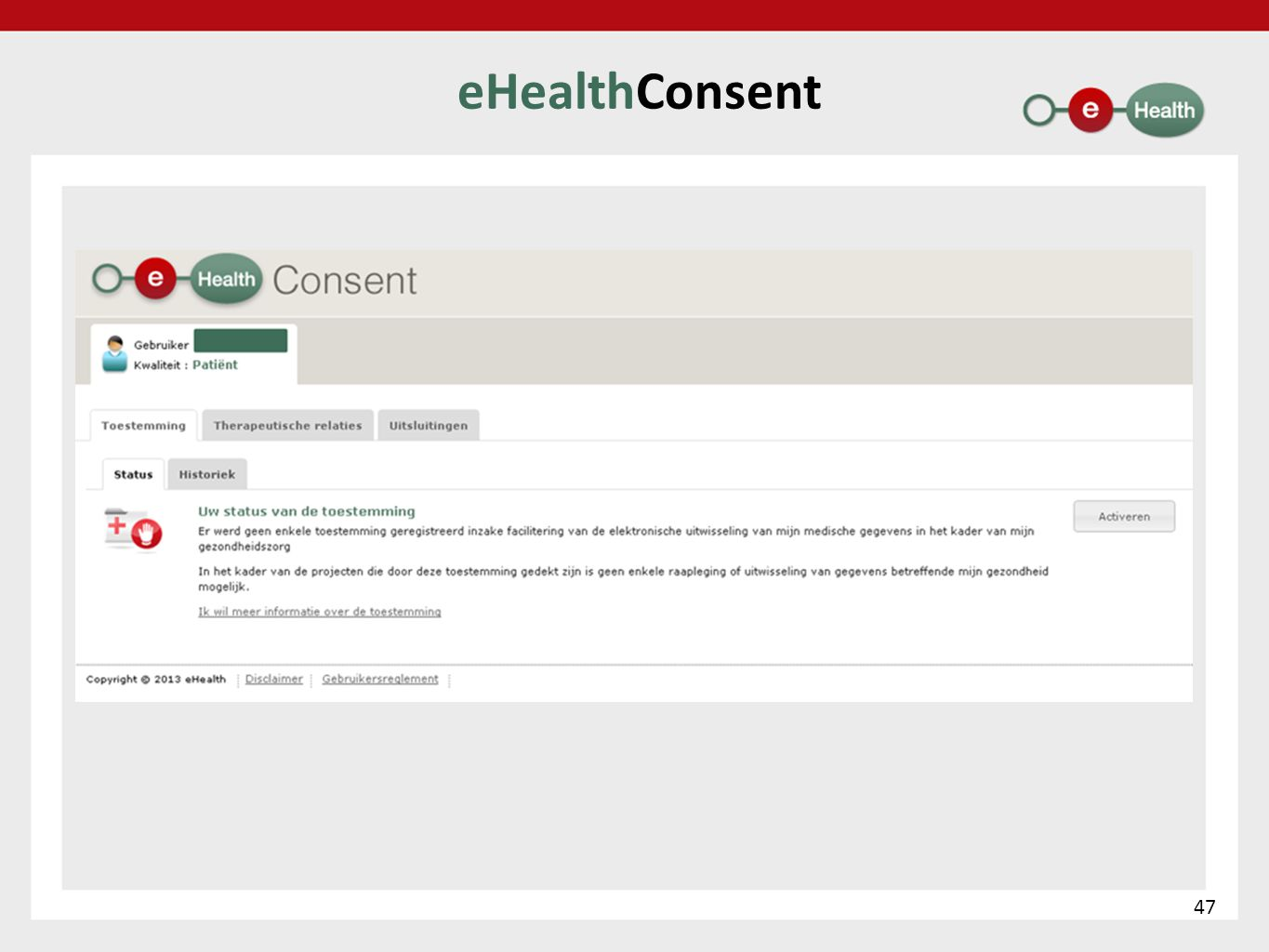 eHealthConsent 47